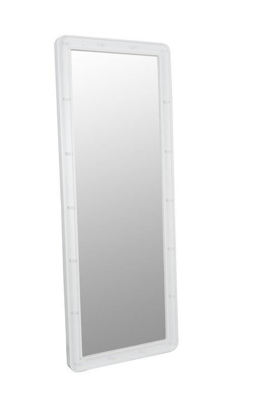 SPIEGELELEMENT - Weiß, KONVENTIONELL, Kunststoff (120/45/3.5cm)