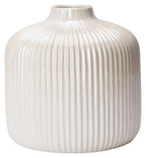 VAS - vit, Design, keramik (16/16cm) - Ambia Home