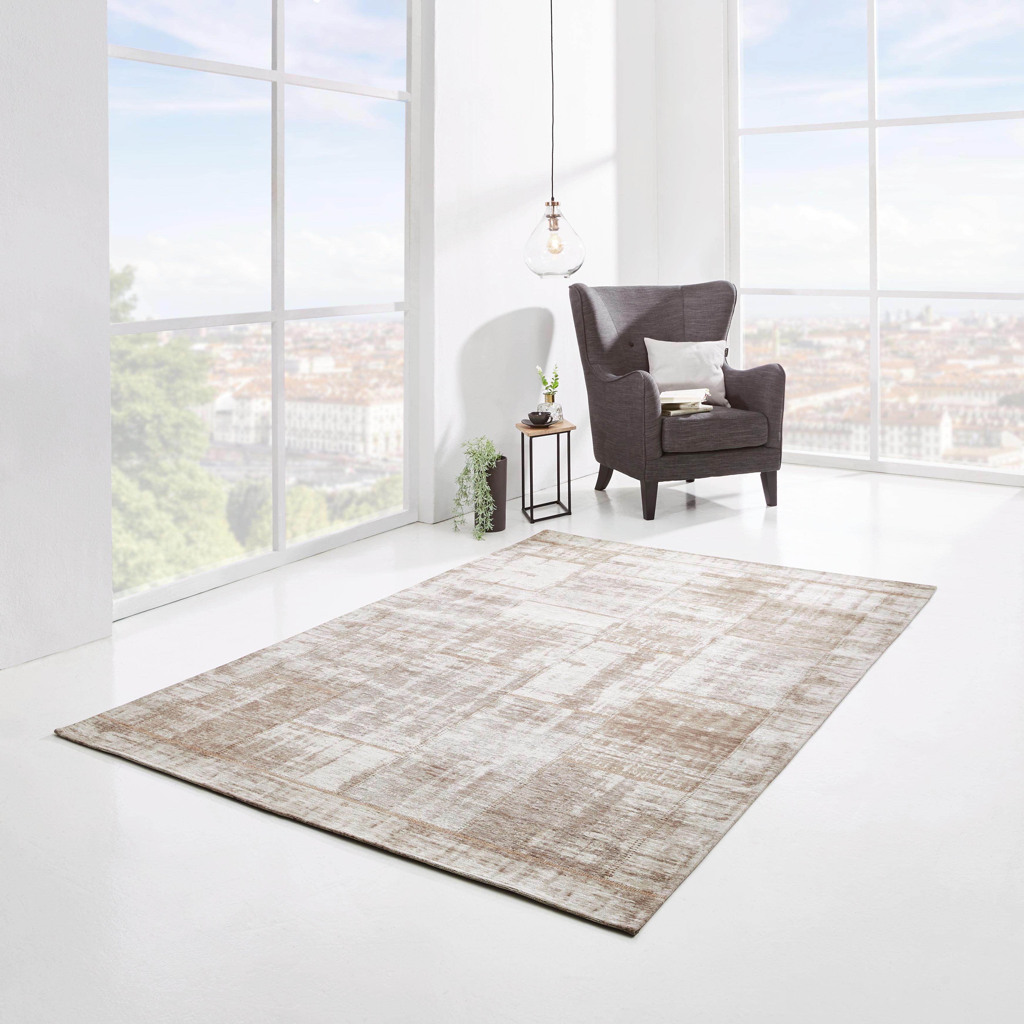 FLACHWEBETEPPICH  Beige  80/150 cm - Beige, Basics, Textil (80/150cm) - NOVEL