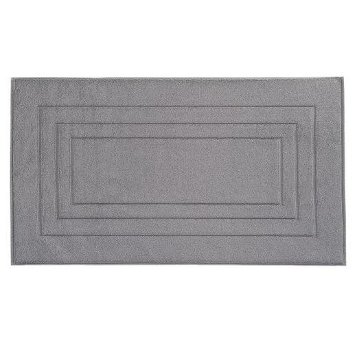 BADEMATTE  Dunkelgrau  60/100 cm - Dunkelgrau, Basics, Textil (60/100cm) - VOSSEN