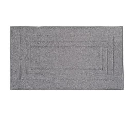 PŘEDLOŽKA KOUPELNOVÁ - tmavě šedá, Basics, textilie (60/100cm) - Vossen
