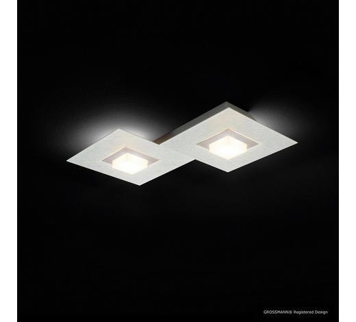 LED-DECKENLEUCHTE   - Titanfarben, Design, Metall (40/30/5cm)