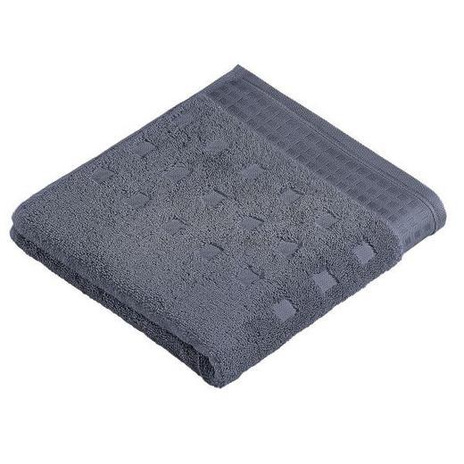 HANDTUCH 50/100 cm - Anthrazit, Basics, Textil (50/100cm) - Vossen