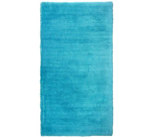 HOCHFLORTEPPICH 80/150 cm - Türkis, Trend, Textil (80/150cm) - Novel