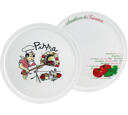 PIZZATELLER 30 cm  - Multicolor, Basics, Keramik (30cm) - Homeware