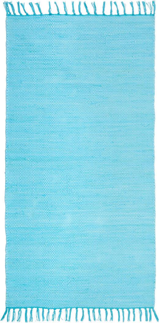 FLECKERLTEPPICH  60/120 cm  Blau - Blau, LIFESTYLE, Textil (60 120 cm) - Boxxx