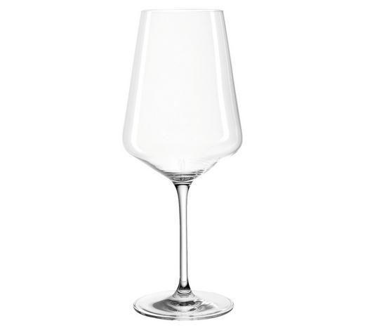 SKLENIČKA NA ČERVENÉ VÍNO - průhledné, Design, sklo (10,50/25,50/10,50cm) - Leonardo