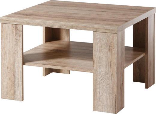 COUCHTISCH quadratisch Eichefarben - Eichefarben, Design (65/65/45cm) - Carryhome