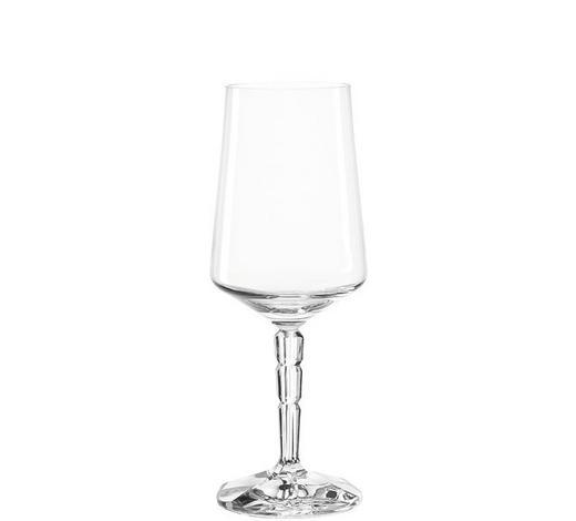 WEIßWEINGLAS - Transparent, LIFESTYLE, Glas (7,20/19,20/7,20cm) - Leonardo