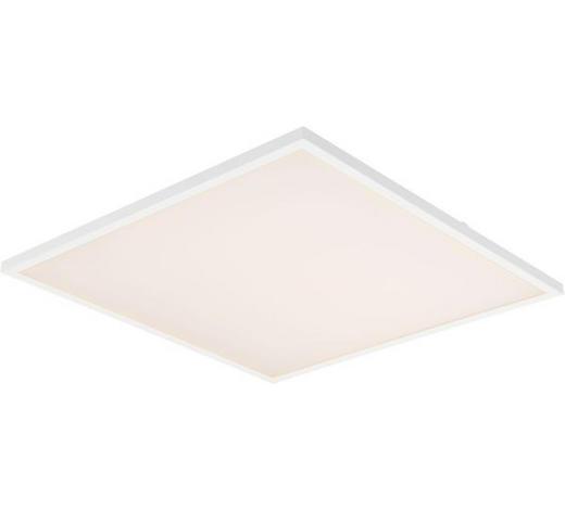 LED-PANEEL   - Weiß, KONVENTIONELL, Kunststoff/Metall (45/45/4,5cm) - Novel