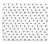 WICKELAUFLAGE Stars  - Anthrazit/Weiß, Basics, Kunststoff (85/72cm) - My Baby Lou