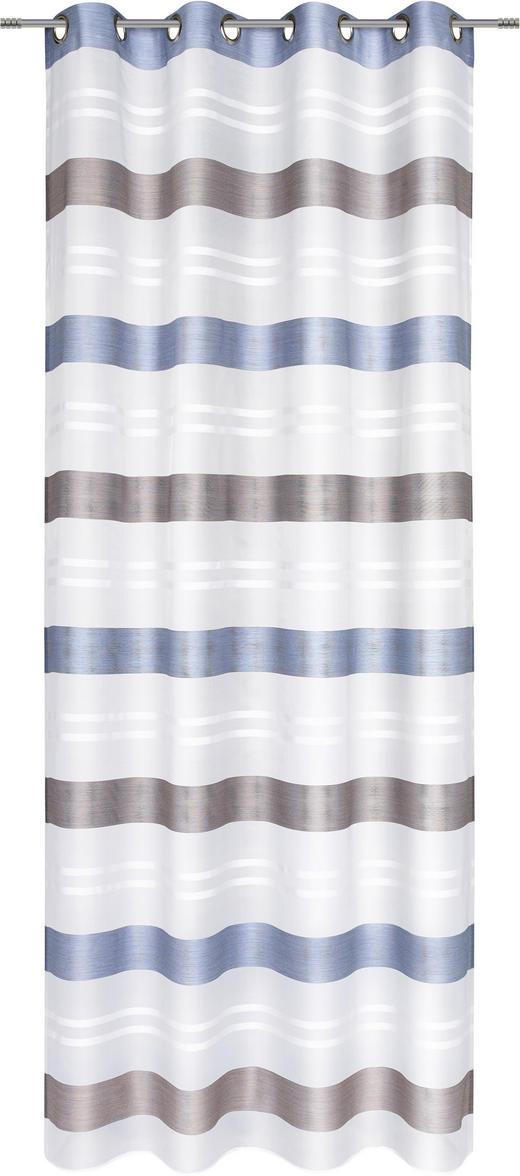 ÖSENSCHAL  halbtransparent   135/245 cm - Dunkelblau, Design, Textil (135/245cm) - Esposa