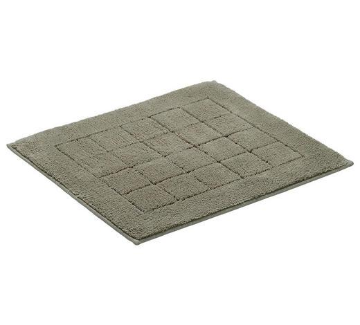 BADEMATTE in Grau 55/65 cm  - Grau, Basics, Textil (55/65cm) - Vossen