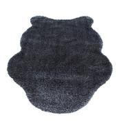 KUNSTFELL - Anthrazit, Trend, Kunststoff/Textil (60/100cm) - Boxxx