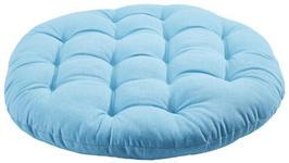 SITZKISSEN Blau 40 cm  - Blau, Design, Textil (40cm) - Boxxx