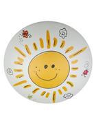 KINDERDECKENLEUCHTE   - Gelb/Weiß, Basics, Kunststoff/Metall (36/10cm)