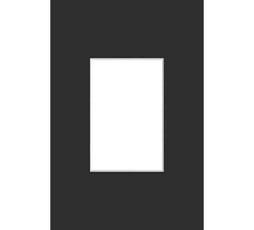 PASSEPARTOUT  Schwarz  - Schwarz, Basics, Papier (30/40cm) - Nielsen