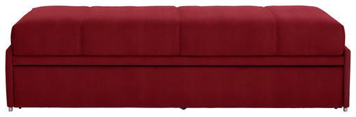 SCHLAFSOFA in Textil Rot - Rot, Design, Textil (212/56/98cm) - Bali