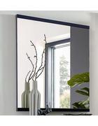 SPIEGEL 75/94,6/4,4 cm  - Graphitfarben, Design, Glas/Holzwerkstoff (75/94,6/4,4cm) - Invivus