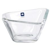 SCHALE - Transparent, Glas (13,20/13,2/7,3cm) - LEONARDO