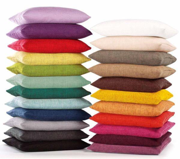KISSENHÜLLE Creme 60/60 cm - Creme, Basics, Textil (60/60cm)
