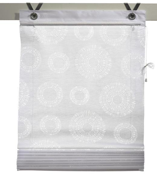 PLISSEE   60/140 cm - Weiß, Basics, Textil (60/140cm) - Esposa