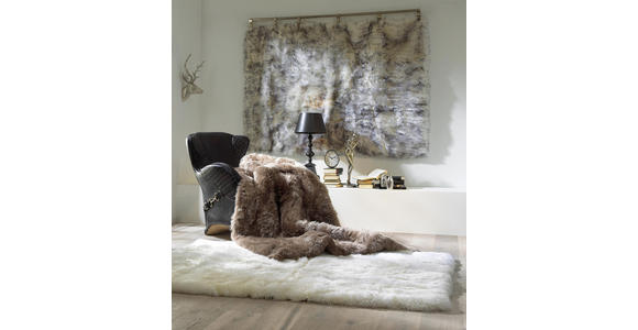 SCHAFFELL - Taupe, Natur, Textil (120/180cm) - Linea Natura