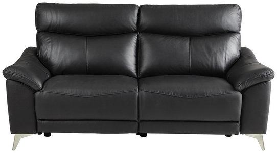 Zweisitzer Sofa Mit Leder In Schwarz Jetzt Finden