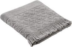 DUSCHTUCH 70/130 cm - Silberfarben, Design, Textil (70/130cm) - Esposa