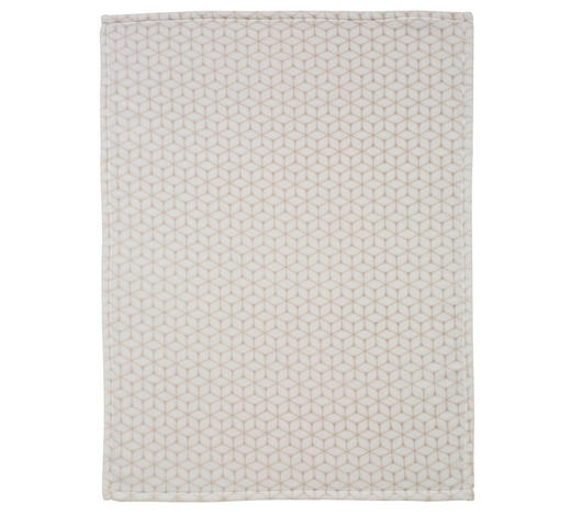 BABYDECKE - Taupe, Basics, Textil (75x100cm) - Alvi