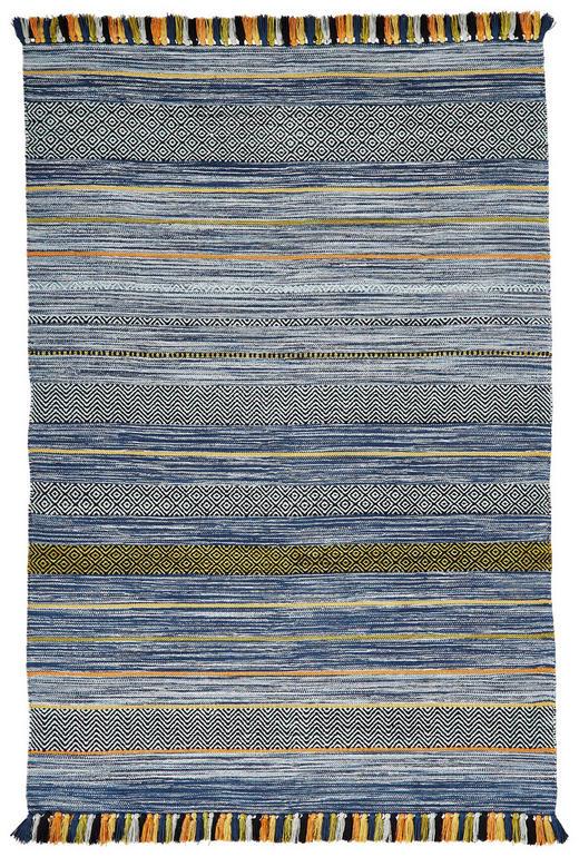 FLACHWEBETEPPICH  135/200 cm  Multicolor - Multicolor, Basics, Textil (135/200cm)