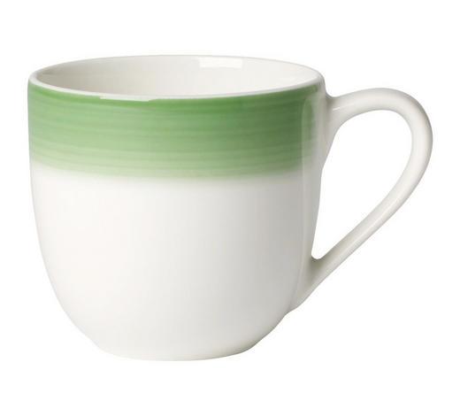 ESPRESSOTASSE 100 ml - Creme/Grün, KONVENTIONELL, Keramik (0,1l) - Villeroy & Boch