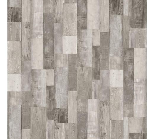 VINYLBODEN per  m² - Hellgrau/Weiß, MODERN, Holzwerkstoff/Kunststoff (120,7/21,6/0,96cm) - Parador