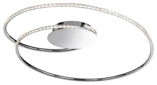 LED-DECKENLEUCHTE - Chromfarben, Design, Metall (82cm)
