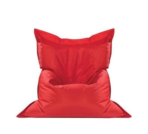 SEDACÍ PYTEL,  - červená, Design, textil (140/180cm) - Boxxx