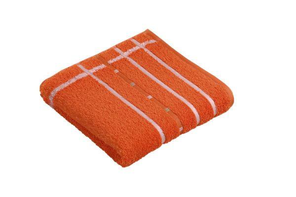 BRISAČA QUADRATI, 50/100 - bela/oranžna, Konvencionalno, tekstil (50/100cm) - VOSSEN