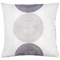 Zierkissen 50/50 cm  - Anthrazit, Design, Textil (50/50cm) - Novel