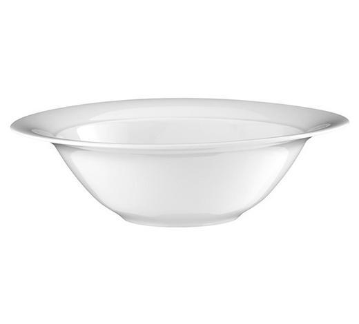 SCHÜSSEL 24 cm - Weiß, KONVENTIONELL, Keramik (24cm) - Seltmann Weiden