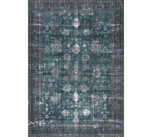 VINTAGE-TEPPICH - Blau, LIFESTYLE, Textil (130/190cm) - Novel