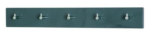 GARDEROBA ZIDNA - siva/boje kroma, Design, drvni materijal/metal (57/5/8cm) - BOXXX