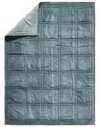 KUSCHELDECKE 130/180 cm Türkis  - Türkis, KONVENTIONELL, Textil (130/180cm)