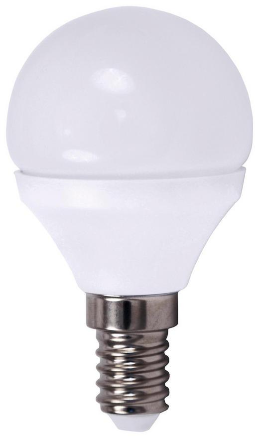 E14 LED ŽARNICA GL2636 - bela, Basics, kovina/umetna masa (4,5/7,9cm) - Boxxx