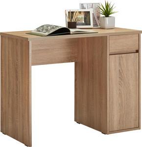 SKRIVBORD - ekfärgad, Klassisk, träbaserade material (91,5/75/50cm) - Low Price
