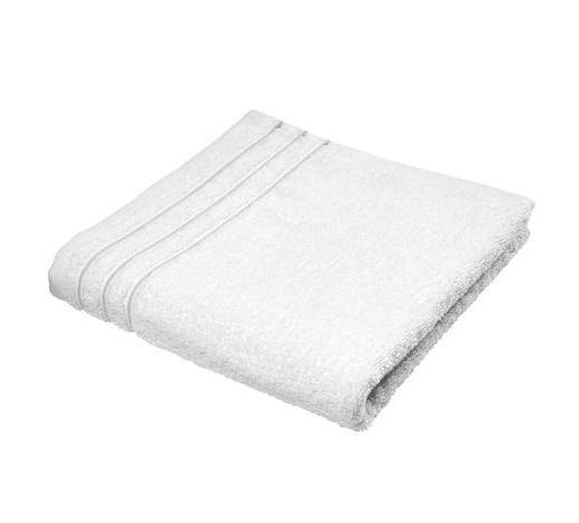 RUČNÍK, 50/100 cm, bílá - bílá, Basics, textil (50/100cm) - Vossen