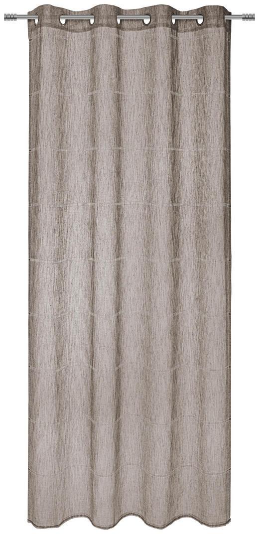 ÖSENSCHAL  transparent  140/245/ cm - Naturfarben, KONVENTIONELL, Textil (140/245/cm) - Esposa