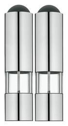 ELEKTR. SALZ-/PFEFFERMÜHLE - Silberfarben, KONVENTIONELL, Glas/Keramik (24,3/11,2/5,7cm) - WMF