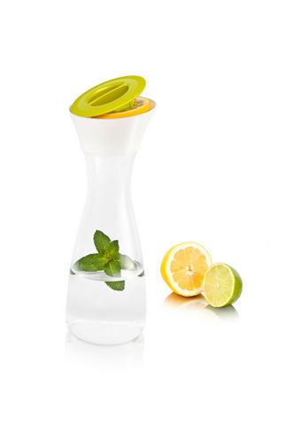 KARAFA - zelena/bela, Konvencionalno, umetna masa (10,5/10,5/29,5cm) - Tomorrow's Kitchen