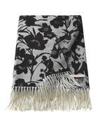 PLAID Schwarz, Beige  - Beige/Schwarz, Trend, Textil (150/200cm) - Esprit
