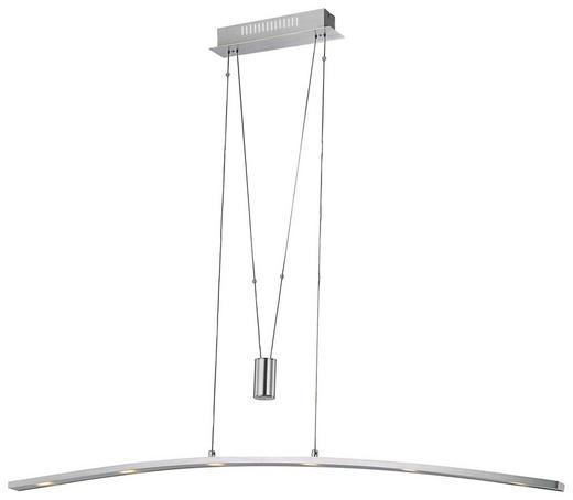 LED-HÄNGELEUCHTE - Alufarben, LIFESTYLE, Kunststoff/Metall (120,5/8/150cm) - Novel