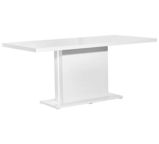 ESSTISCH rechteckig Weiß  - Weiß, Design, Holzwerkstoff (180/89/76cm) - Carryhome